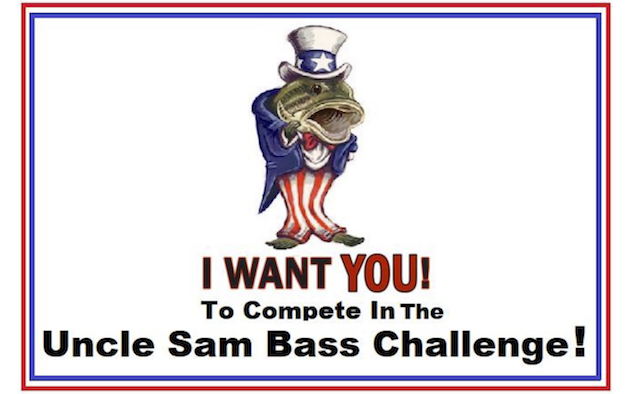 NEW Uncle Sam Big Bass Challenge